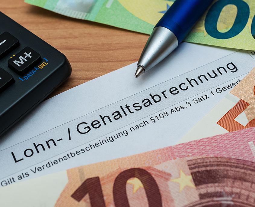 Link zu Lohn- und Gehaltsbuchhaltung